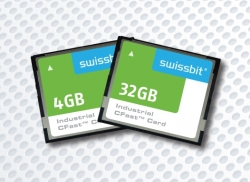 Swissbit prsentiert die neue F-200 Series CFast(TM) Card