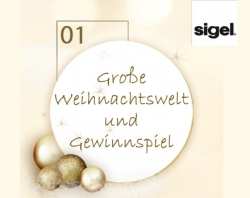 Weihnachten 2012:   Weihnachtswelt und Gewinnspiel von Sigel